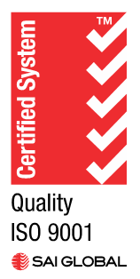Techni-Clean is ISO Certified